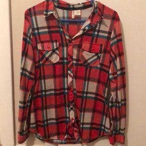Tops - Lightweight Flannel